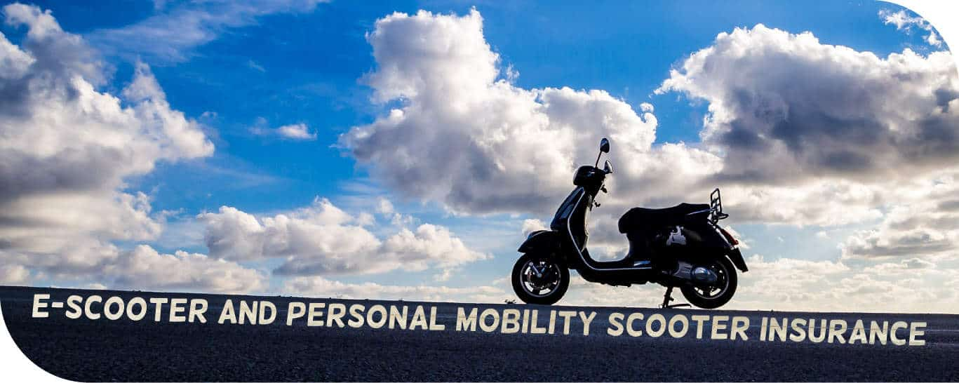 E-scooter and Personal Mobility Scooter insurance (and if you are hit by them)